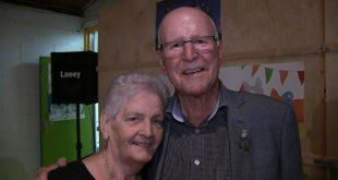 Engel Klein met zijn vrouw