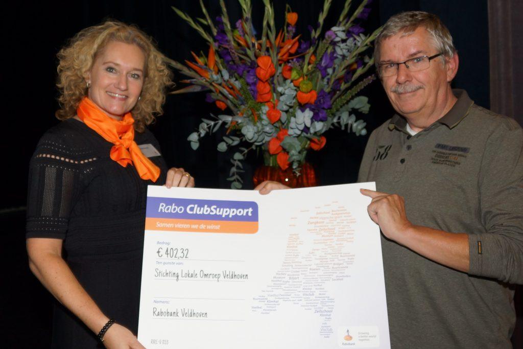 Tiny Saris, penningmeester Omroep Veldhoven