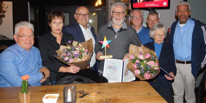 De wethouder en vrijwilligers van Veldhoven Samen Verkeersveilig