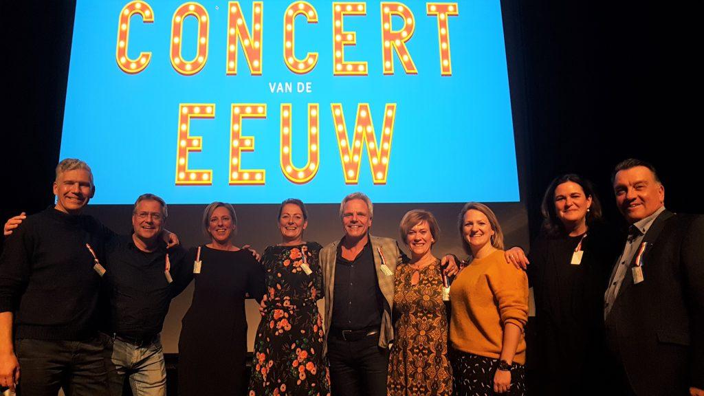 Bestuur van Concert van de Eeuw @Foto Evert Geurts