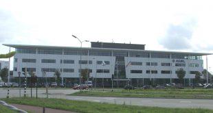 Foto van ASML gebouw