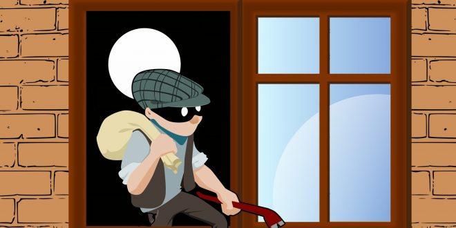 Inbrekers zijn vaak gelegenheidsdieven