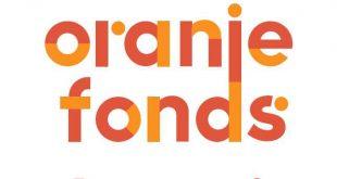 Oranje fonds logo en kreet