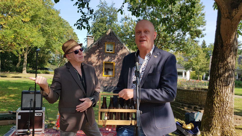 Bertus Borgers (links) en Hans Sonnemans (rechts)