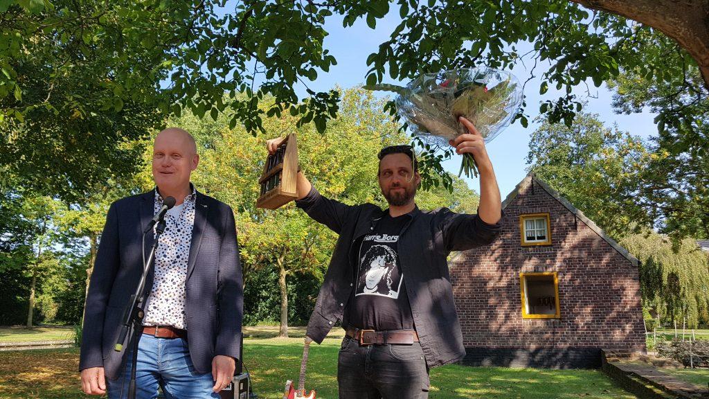 Jan Dams (rechts)