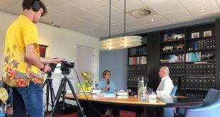 Achter de schermen bij TV programma over dementie
