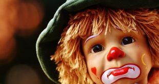 stock foto van kind clown