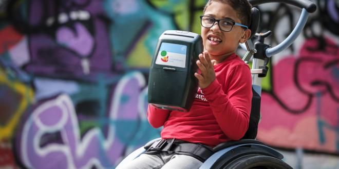 Collecte voor kinderen met een handicap