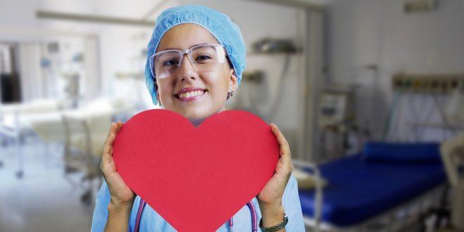 stock foto van medewerker in de zorg