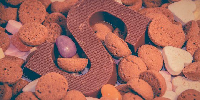 stock foto van sinterklaas snoep