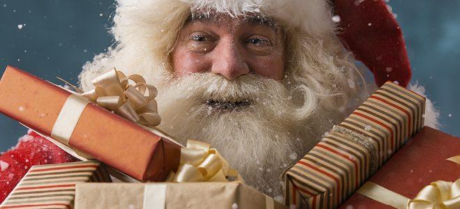 kerstman foto aangeboden door het Citycentrum