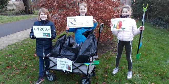 Kinderen in Breda halen geld op voor ZOO