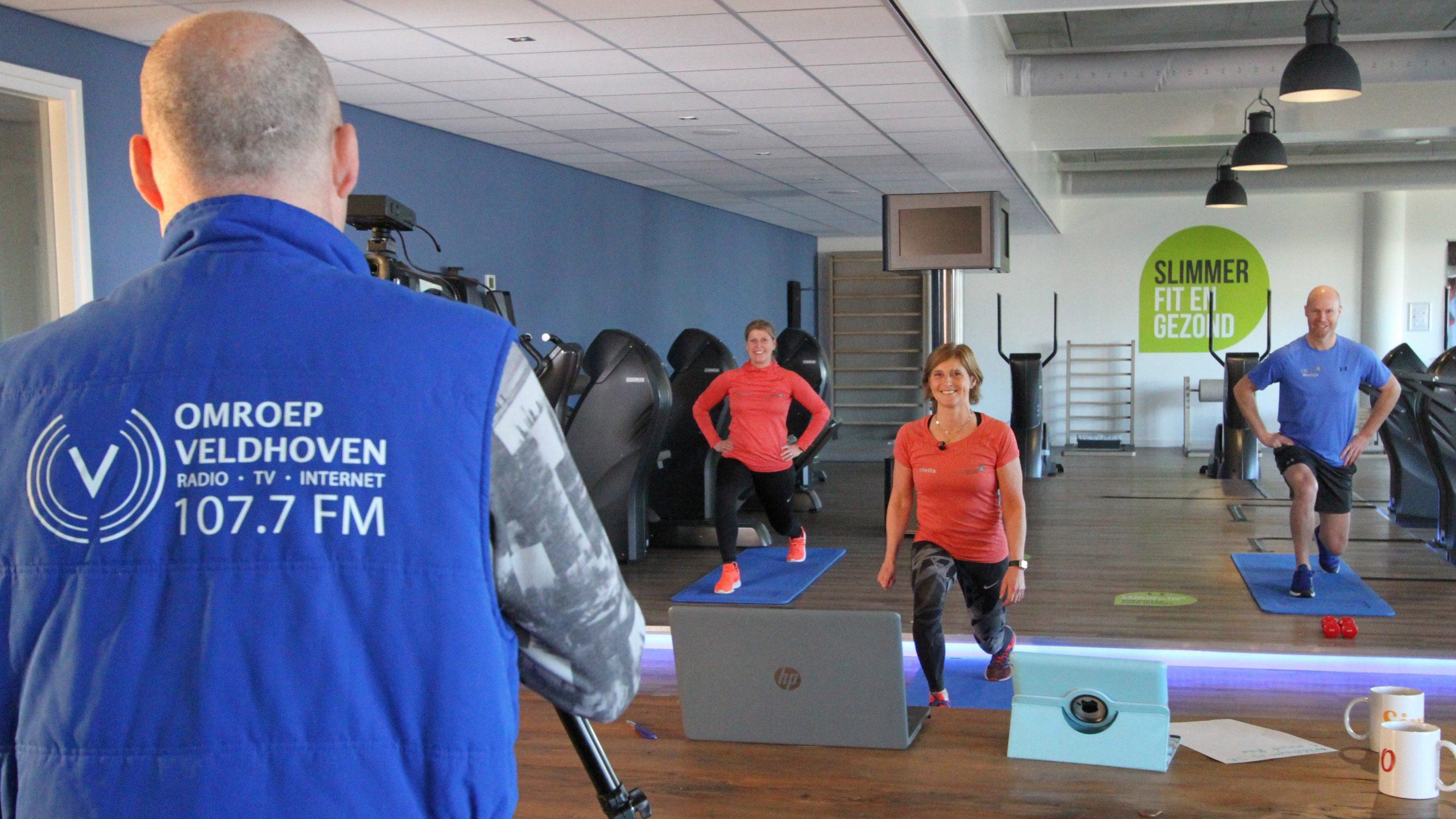 Promo foto voor de slim fit uitzending