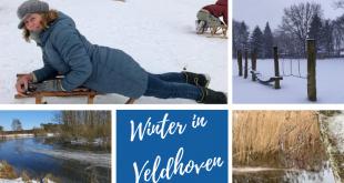 Collage van ingezonden winter foto's