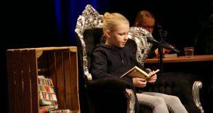 Mathilde van Agthoven is de Veldhovense voorleeskampioen 2021