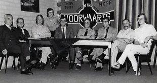 Het bestuur van GV in 1981
