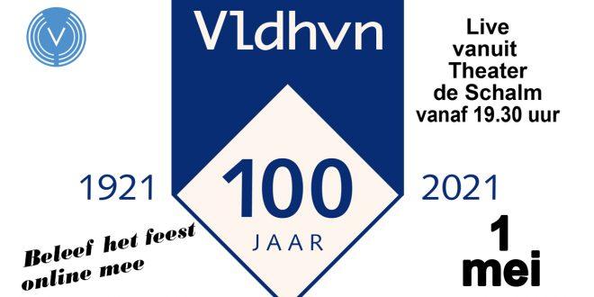 reclame voor Veldhoven 100 jaar 1 mei viering