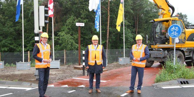 Christophe van der Maat, Ad van den Oever en Marcel Delhez.